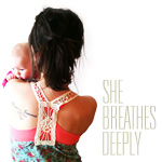 She Breathes Deeply
