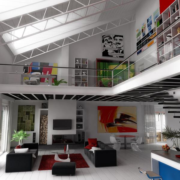Duplex lauan showcase of marcos campuzano industrial - Duplex de diseno ...