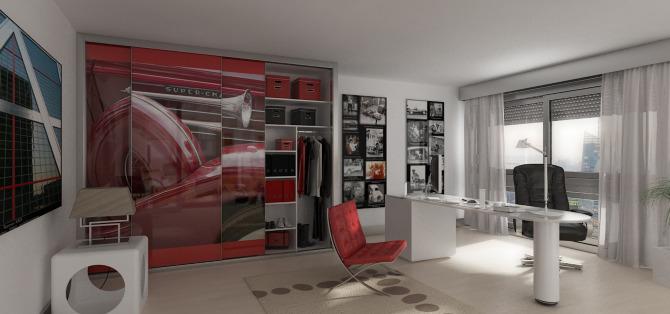 Oficina y escritorio lauan showcase of marcos for Oficinas de diseno industrial