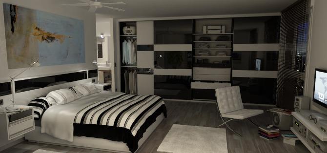 Dormitorio lauan showcase of marcos campuzano for Programas 3d interiorismo