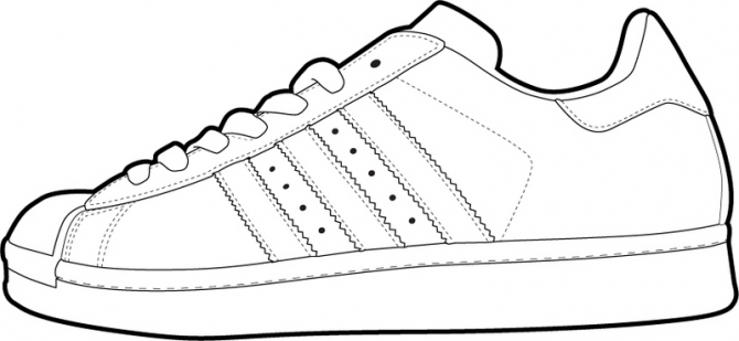 Sneaker Template Of shoe templates for use