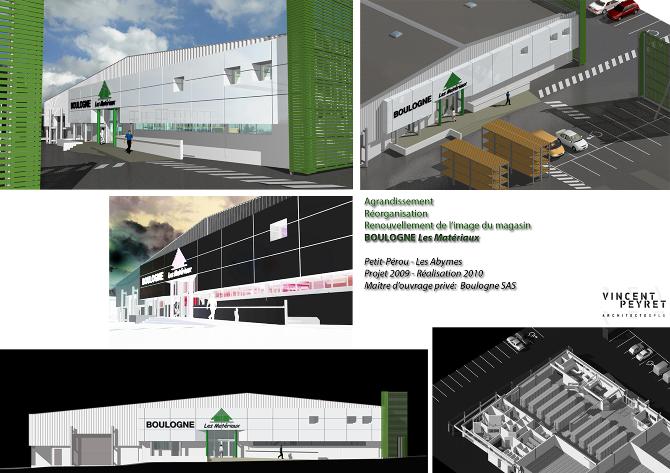 bureaux locaux commerciaux vincent peyret architecte. Black Bedroom Furniture Sets. Home Design Ideas