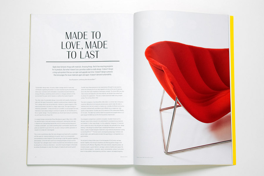 catalogue design. Catalogue design for 11 12 Furniture by Jon