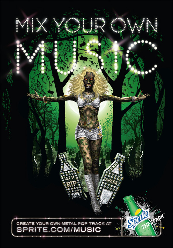 Sprite Mix Your Own Music Posters Beth Erik I Creative Direction
