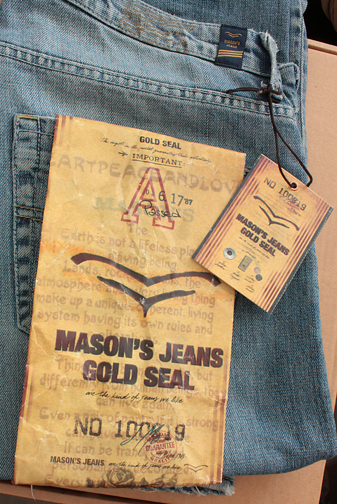 Masons  Jeans label  2010  wwwacmesign