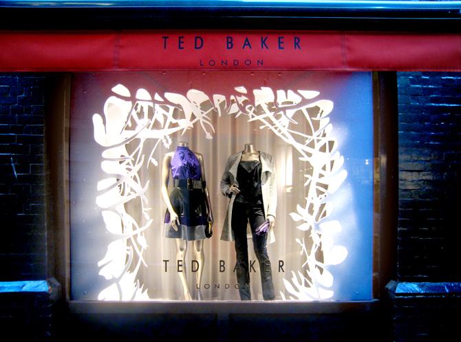 Ted Baker - Retail Display