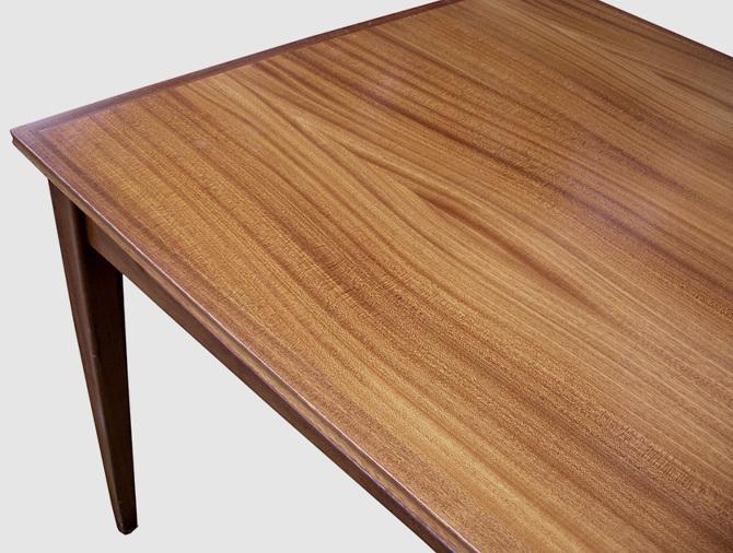 Danish Oil Dining Room Table