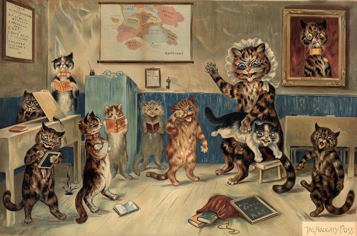 Cute Cats And Psychedelia The Tragic Life Of Louis Wain