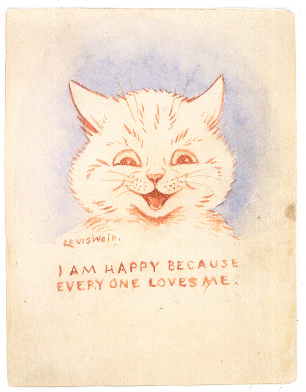Cute Cats and Psychedelia: The Tragic Life of Louis Wain
