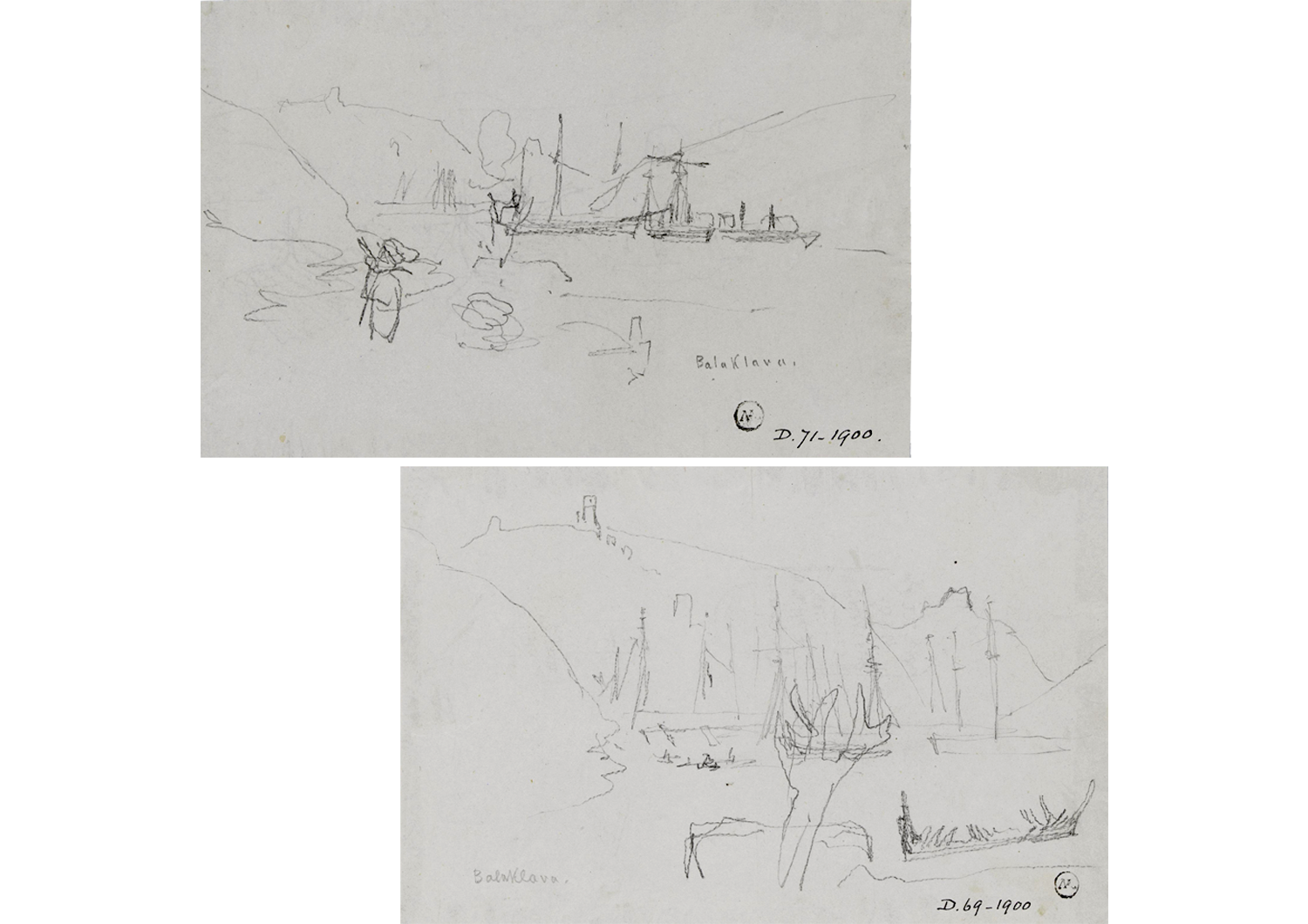 William Simpson Sketches From The Crimean War Illustration Chronicles