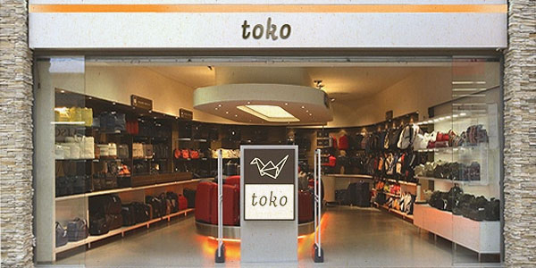 Toko Is A Brand Name Of Shops With A Prestigious Baggage Accessories With A Lasting Tradition The Recognizable Element Of A New Brand Identity Is A Typical