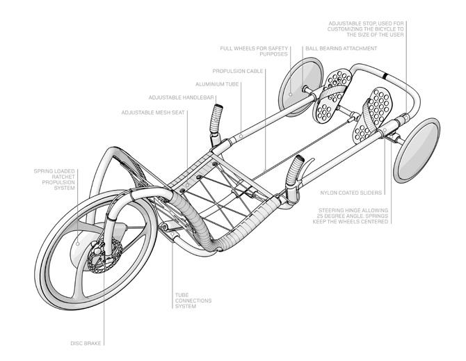 Велосипед своими руками схема