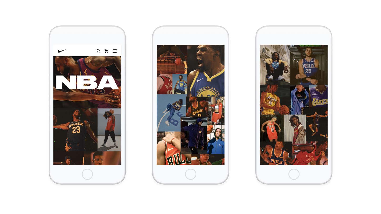 Distribuir espectro ayuda  Nike x NBA - Adam Guzman