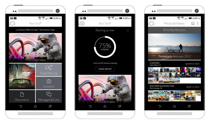 Verizon Cloud App - Brooklyn Brown / User Experience Designer and