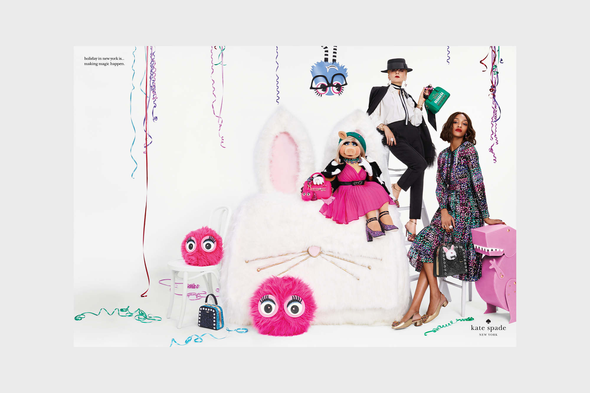 cc071ed94c8b3 Kate Spade NY Holiday 2016. Holiday in New York is… for making magic  happen. CAMPAIGN