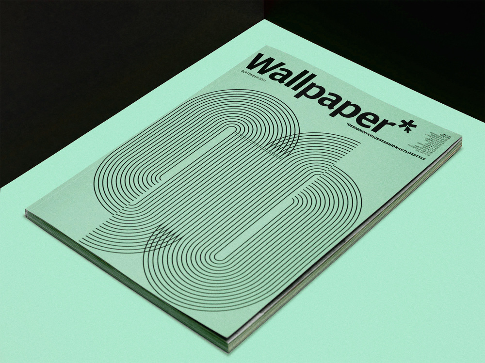 Wallpaper Magazine Colin Cornwell Design Art Direction