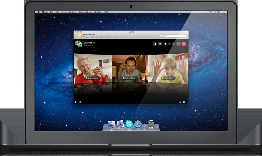 Skype для macbook скачать - фото 10