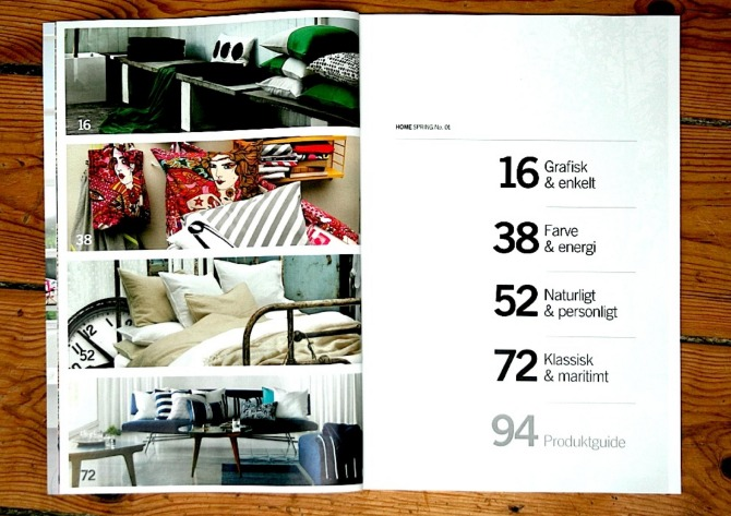 H m editorial creativnativs Design house catalog
