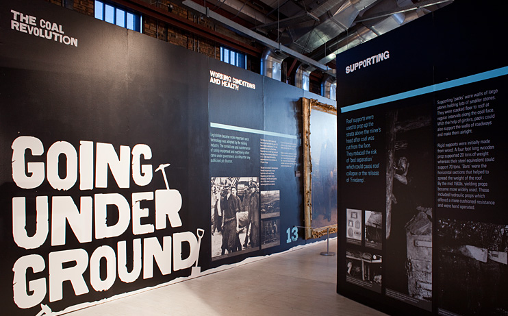 Exhibition Stand Design Scotland : Summerlee museum colin bennett