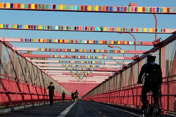 The Bridge Comes Alive by  Baji Lives!