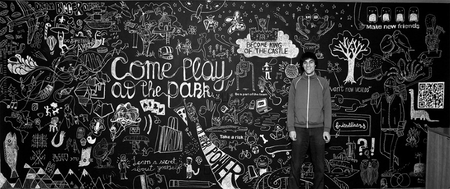 Chalk Mural Design Video - Ben Weeks