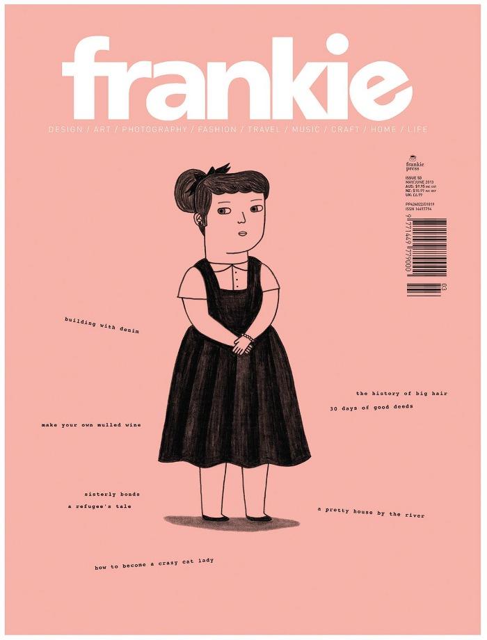 Frankie Magazine Art Design