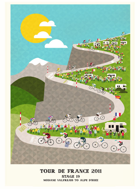 Tour de France posters | Crayonfire