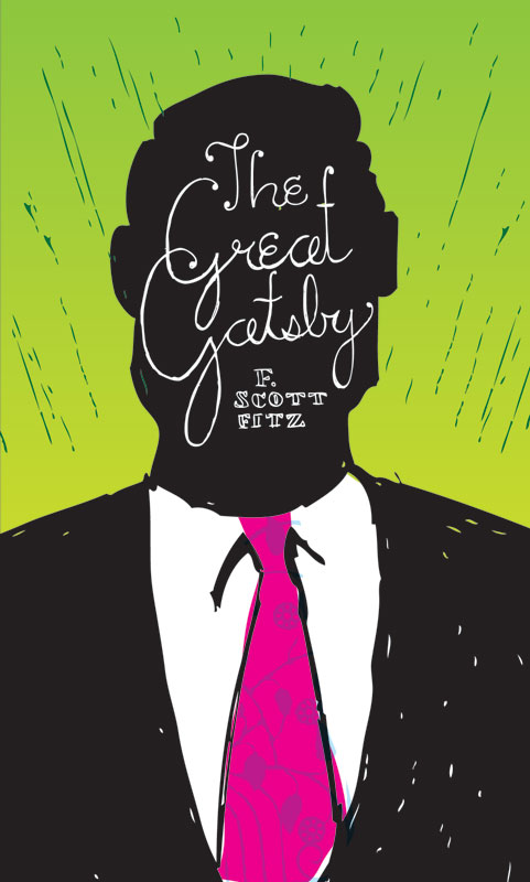 Great Gatsby Book Cover Ideas ~ Rest relax read series faceout books