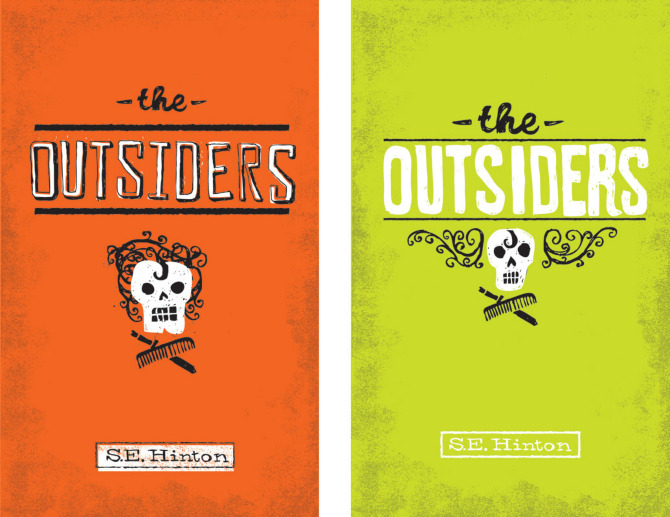 The Outsiders Drawing Book Cover ~ Rest relax read series faceout books