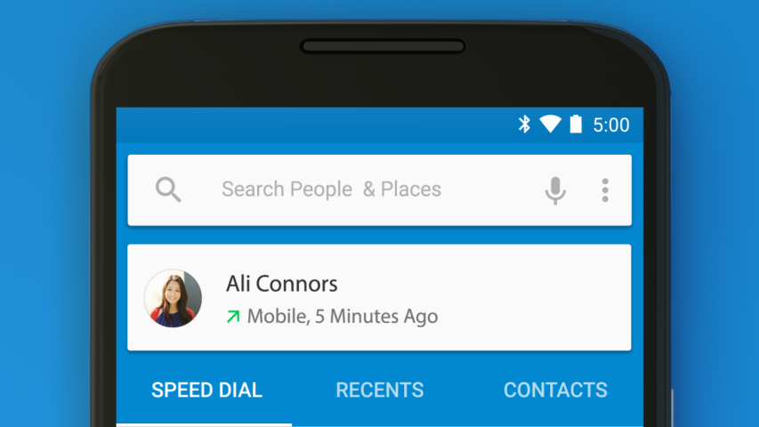Google Dialer for Android - Variable Medium