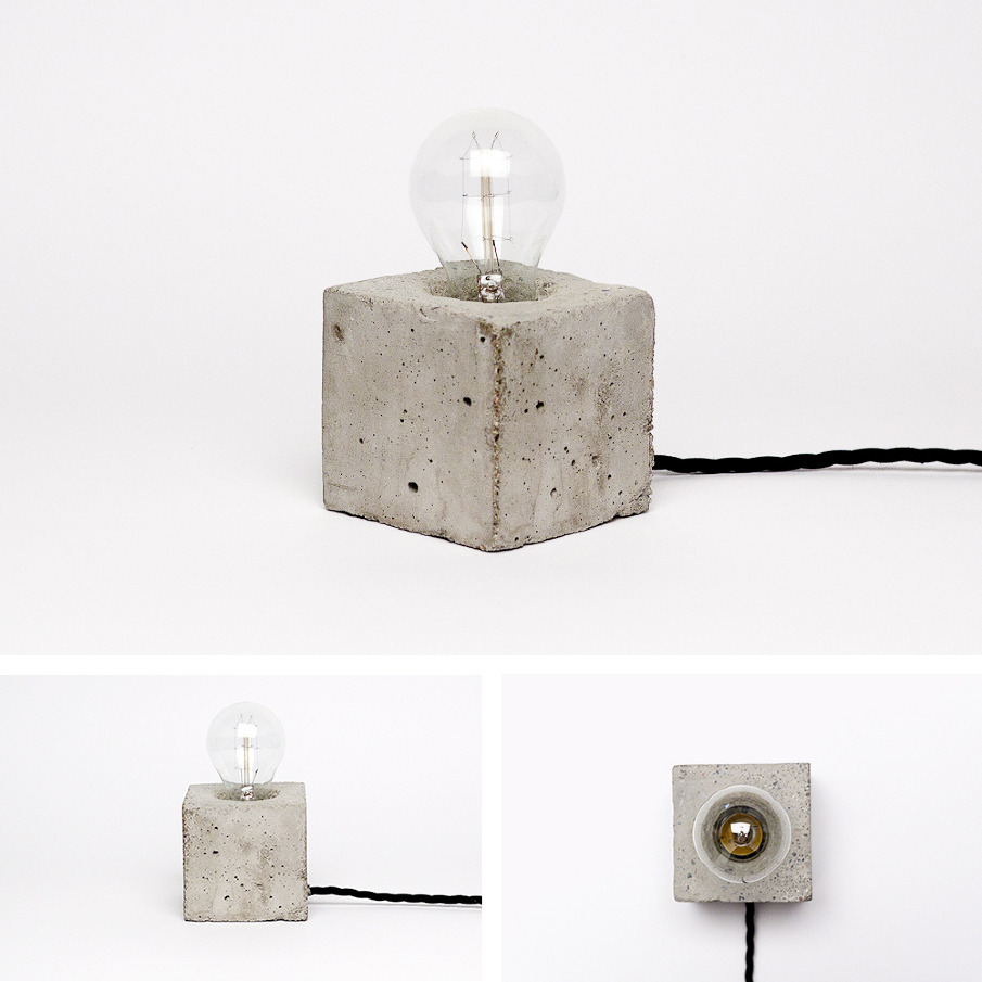 CONCRETE LAMPS - Kontrastform - Freelance Art Director ...