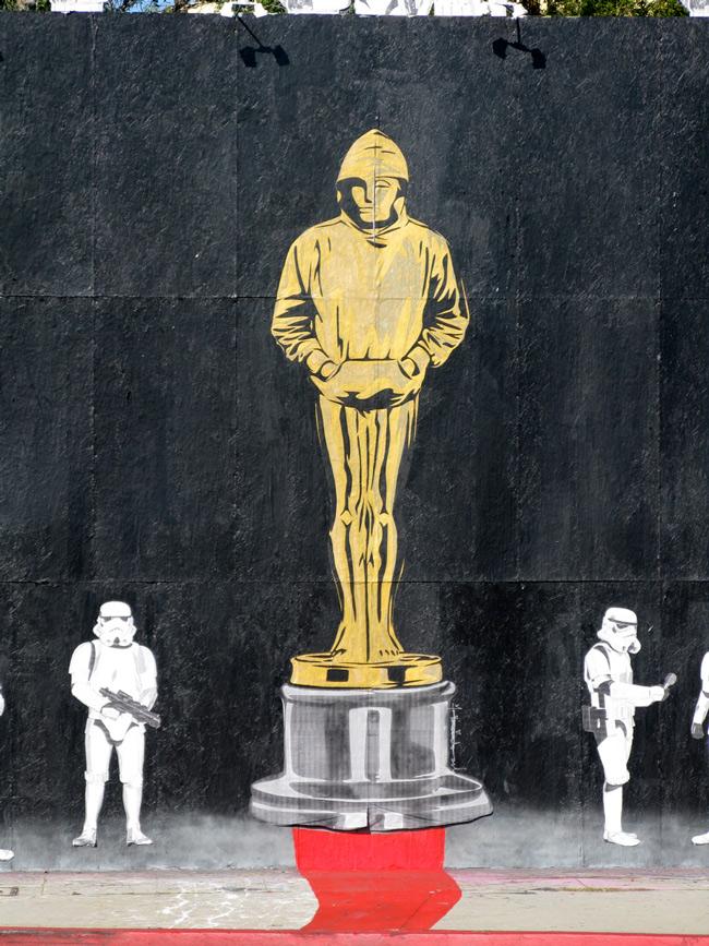 Mr Brainwash Banksy Oscar Los Angeles Unurth