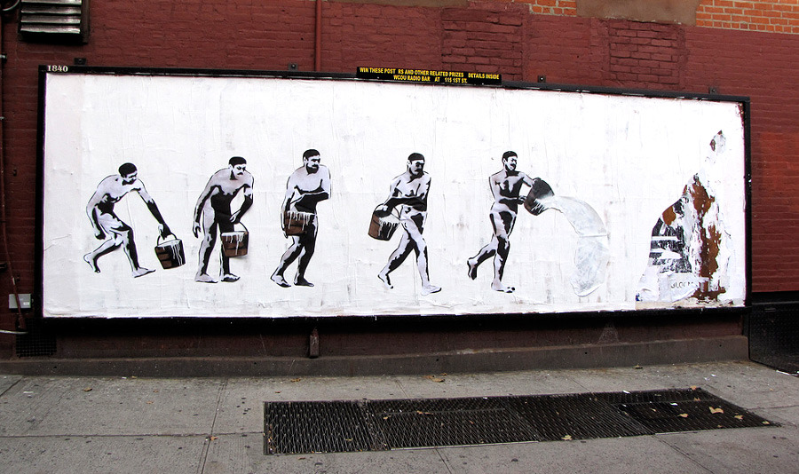 Unurth Street Art - Street advertising