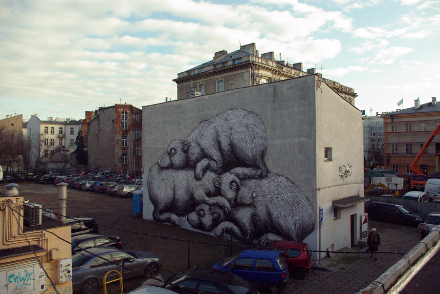 Roa Hits Warsaw  Part Ii