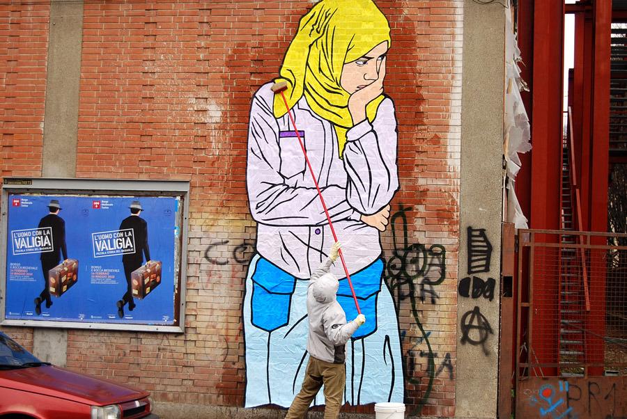 BR1, ZAHRA, Turin - unurth | street art
