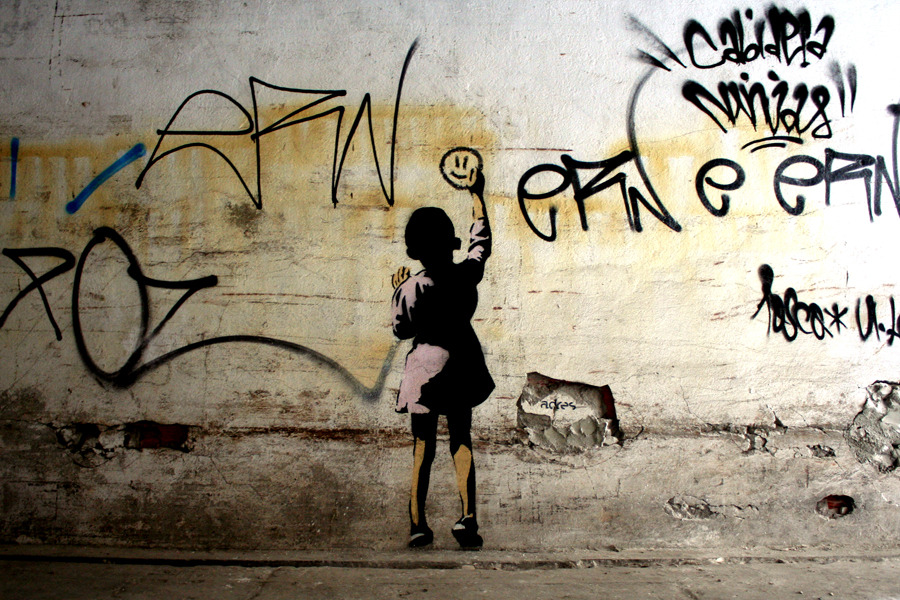 Adres Tag Child Lisbon Unurth Street Art