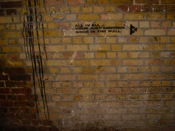 Another Brick In The Wall Bermondsey St London Unurth