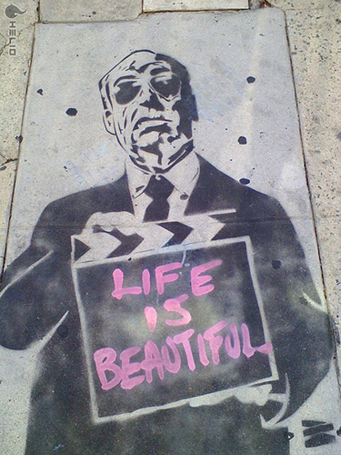 Murals street art on pinterest street art banksy and for Billie holiday life is beautiful mural