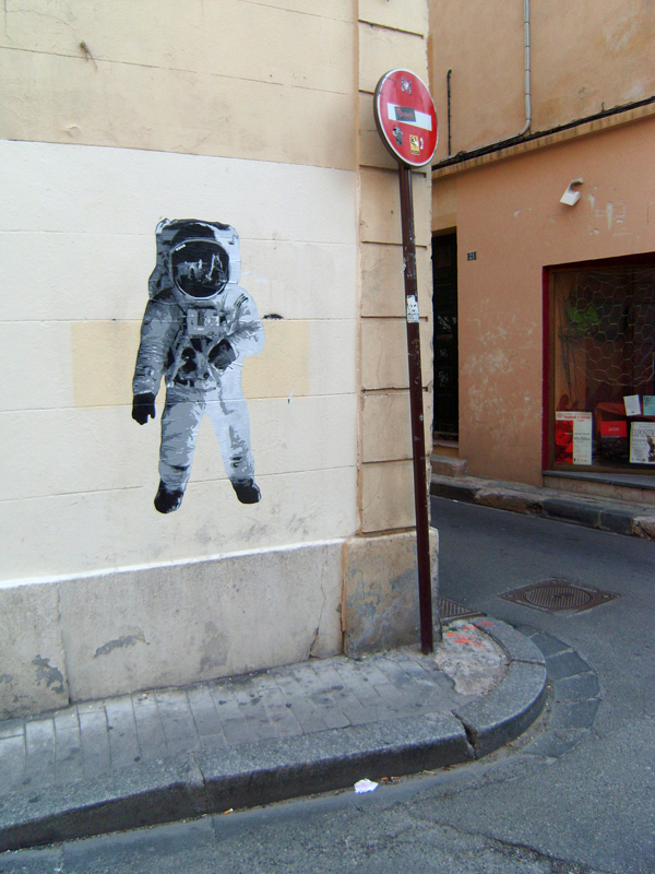 Astronaut Stencil Pics About Space