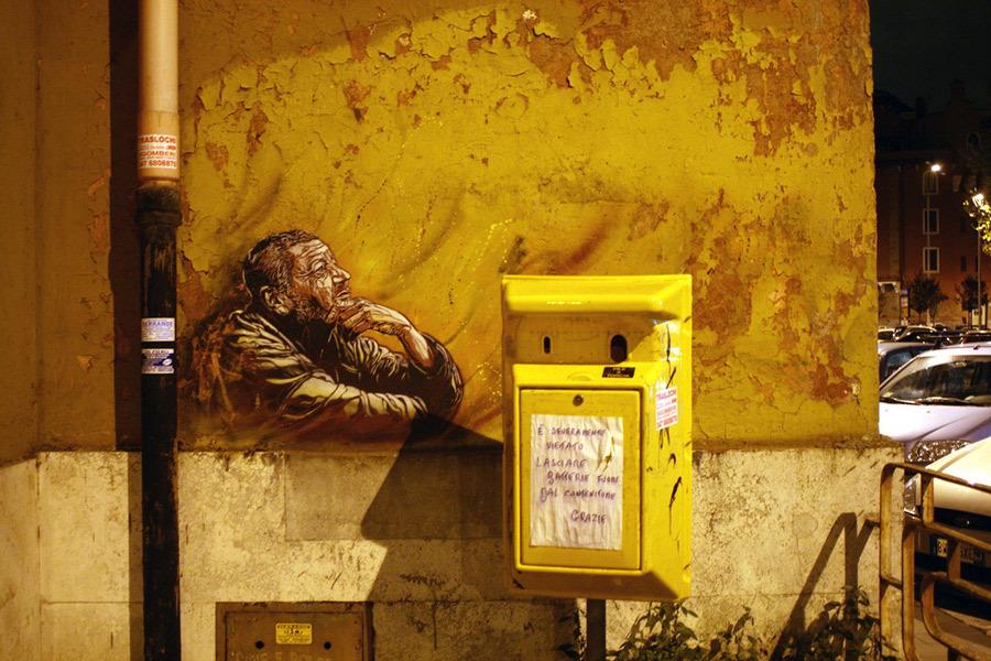 C215, Rome - unurth | street art
