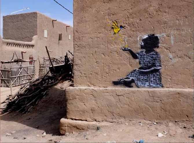 banksy cairo Лучшие городские рисунки от unurth. gorodskoy dizayn