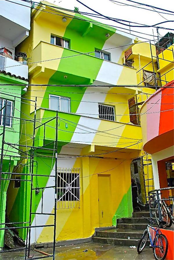 Favela Painting Rio De Janeiro Unurth Street Art