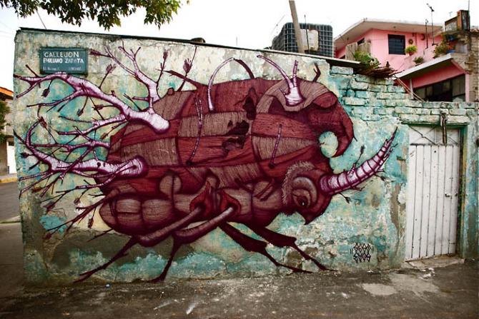 ovbal y sego mexico city unurth street art. Black Bedroom Furniture Sets. Home Design Ideas
