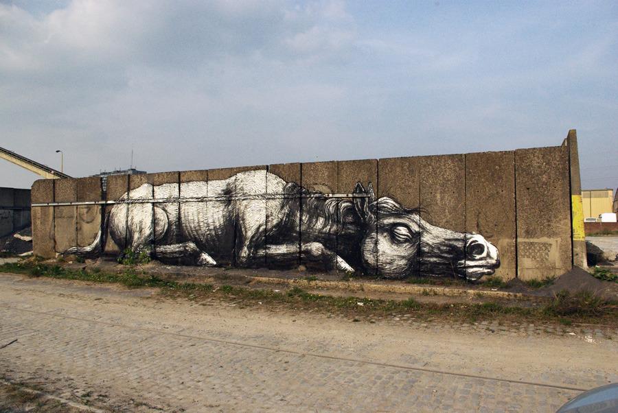 Artista belga ROA