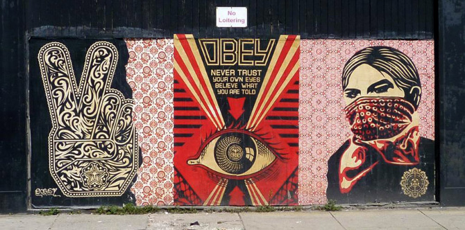 Obey, Boston - unurth | street art