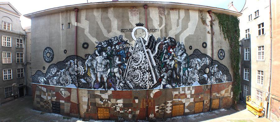 Ozmo M City Gdansk Poland Unurth Street Art