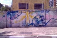 Unurth street art for Bruno schulz mural
