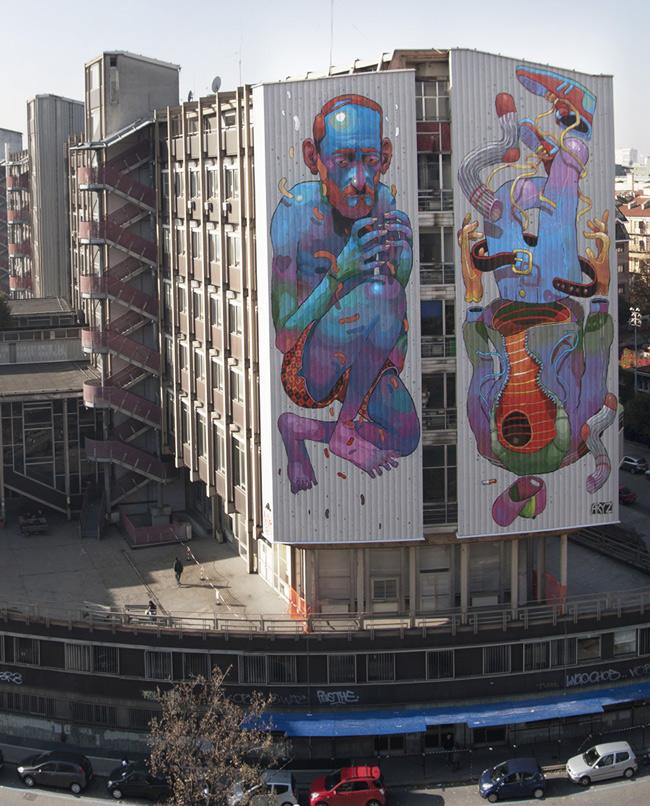 Aryz Spain Nov10 4 u Лучшие городские рисунки от unurth. gorodskoy dizayn