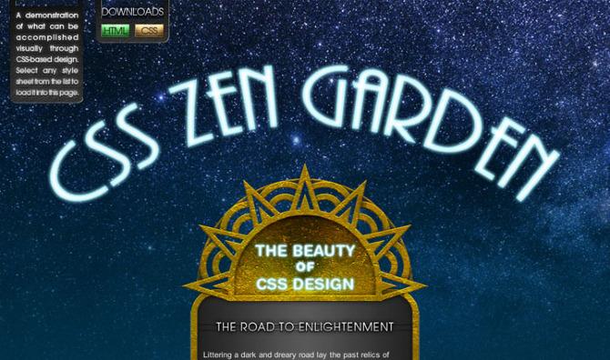 css zen garden anfactory - Css Zen Garden