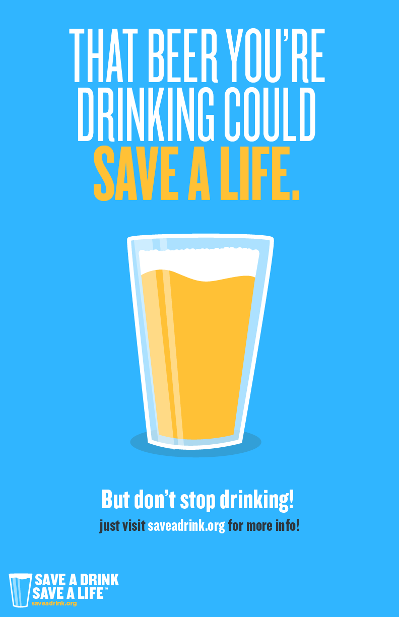 Save A Drink Save A Life Campaign - pope saint victor